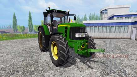 John Deere 6830 Premium FrontLoader para Farming Simulator 2015
