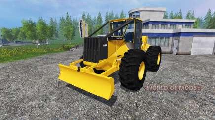 John Deere 648G v1.1 para Farming Simulator 2015