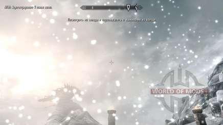 Freeze - la salvación en el campo [2.6] para Skyrim