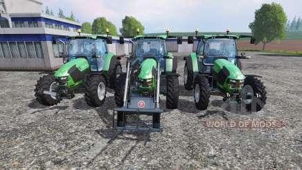 Deutz-Fahr 5110 TTV v2.0 para Farming Simulator 2015