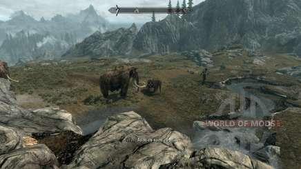 Realista de los animales y de los depredadores [1.38] para Skyrim