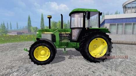 John Deere 3650 FL para Farming Simulator 2015