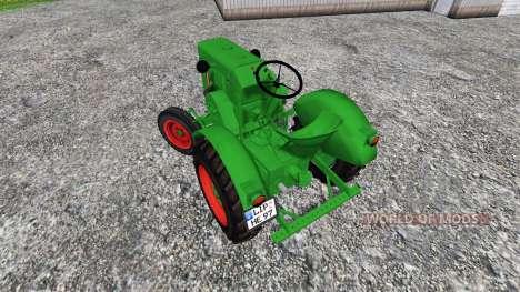 Allgaier A22 para Farming Simulator 2015