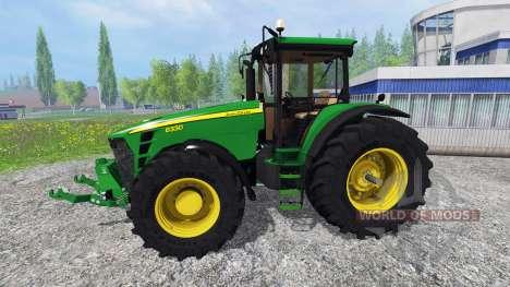 John Deere 8330 v3.0 para Farming Simulator 2015