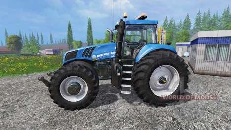 New Holland T8.320 [600HP] para Farming Simulator 2015