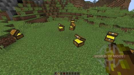 Treasure Chest [1.8] para Minecraft