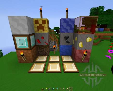 Sworp (HD-Cartoon) Resource Pack [64x][1.8.8] para Minecraft
