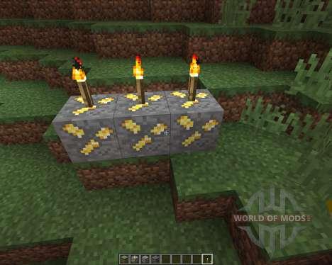 Realistic Ores [16x][1.8.8] para Minecraft