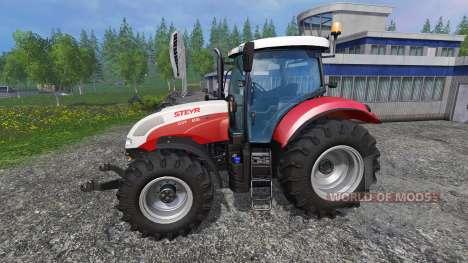 Steyr CVT 6130 EcoTech para Farming Simulator 2015