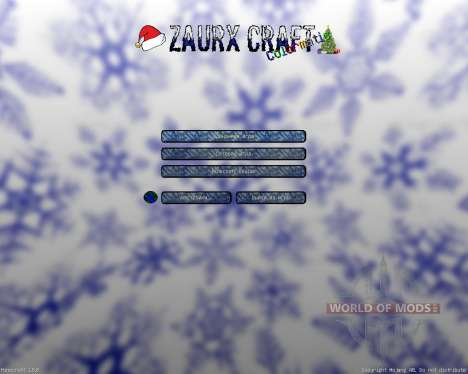Zaurx Craft Christmas Resource Pack [32x][1.8.8] para Minecraft