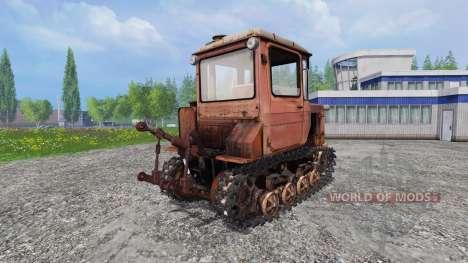 DT-75N v1.1 para Farming Simulator 2015