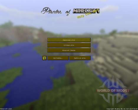 Pirates Of Minecraft [32x][1.8.8] para Minecraft