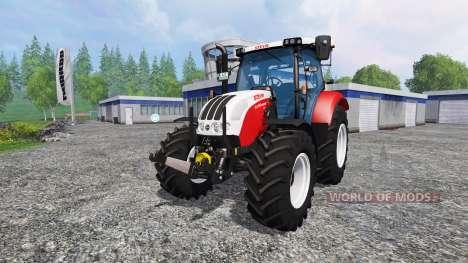 Steyr Profi 4130 CVT para Farming Simulator 2015