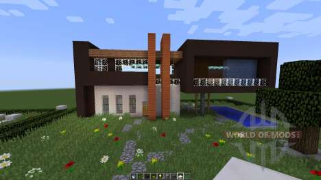 Slandot Modern House [1.8][1.8.8] para Minecraft