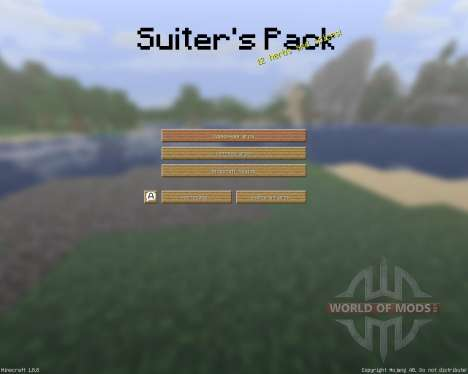 The Suiters Resource Pack [16x][1.8.8] para Minecraft