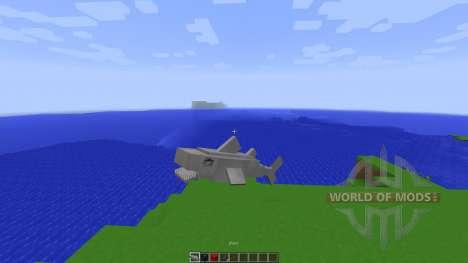 Shark Simulator in Vanilla Minecraft[1.8][1.8.8] para Minecraft
