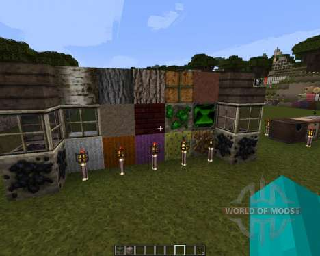Battered Old Stuff Resource Pack [32x][1.8.8] para Minecraft