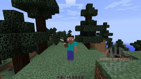 Call of Duty Knives [1.8] para Minecraft