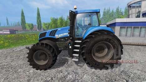 New Holland T8.320 v2.0 para Farming Simulator 2015