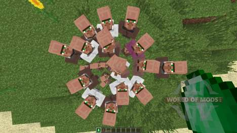 Villagers Need Emeralds [1.7.2] para Minecraft