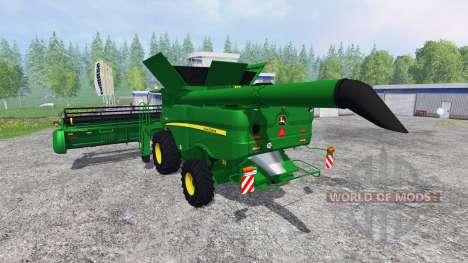 John Deere S 690i para Farming Simulator 2015