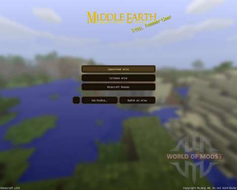 Middle Earth: A LOTR pack [64x][1.8.8] para Minecraft
