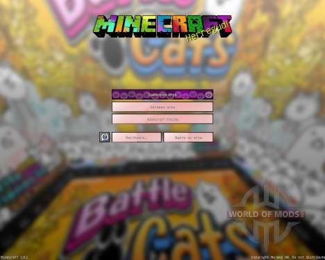 The Battle Cats [16x][1.8.1] para Minecraft