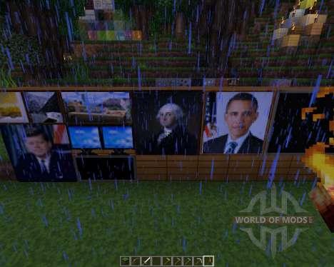America texture pack [64x][1.8.8] para Minecraft