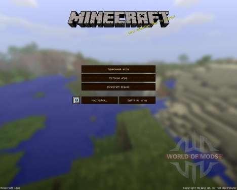 Jadercraft HD Resource Pack [64x][1.8.8] para Minecraft