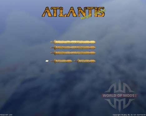 Royal Atlantean GUI Pack [16x][1.8.8] para Minecraft