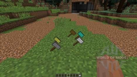 Hammers [1.8] para Minecraft