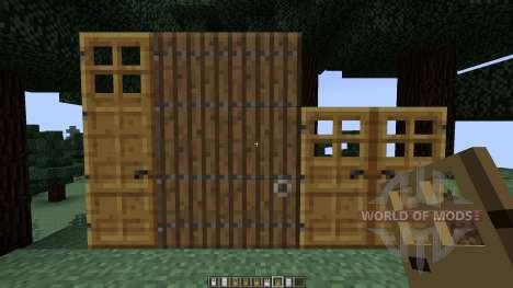 Roxas Tall Doors [1.7.10][1.7.2] para Minecraft