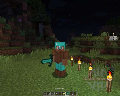 Better Tools Texture pack [16x][1.8.1] para Minecraft