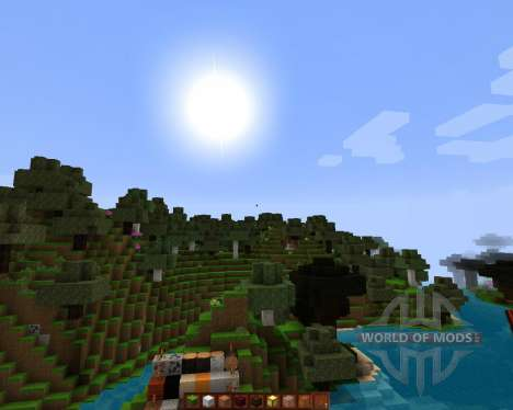 Hyperion HD TexturePack [128x][1.8.1] para Minecraft