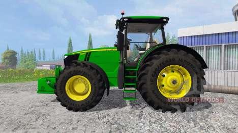 John Deere 7290R and 8370R v0.2 para Farming Simulator 2015