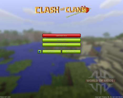 Clash of Mines Resource Pack [32x][1.8.8] para Minecraft