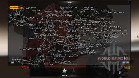 Mapa Brasil Total 4.2 [TRUCK VERSION] para Euro Truck Simulator 2
