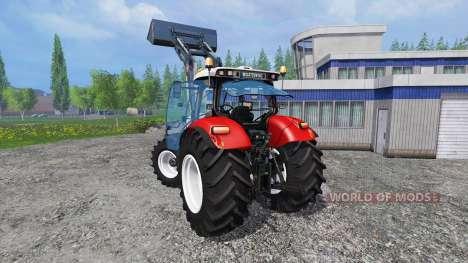 Steyr CVT 6230 v1.2 para Farming Simulator 2015