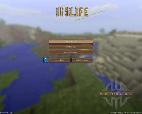 Ifs Life Cartoony Resource Pack [128x][1.8.8] para Minecraft