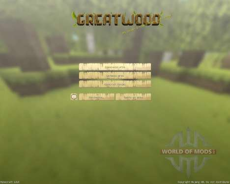 GreatWood Resource Pack [16x][1.8.8] para Minecraft