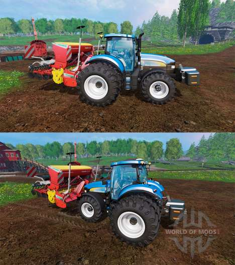 New Holland TM7040 para Farming Simulator 2015