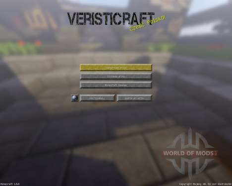 Veristicraft Realistic [128x][1.8.8] para Minecraft