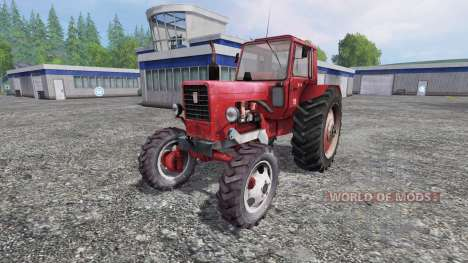 MTZ-82 rojo para Farming Simulator 2015