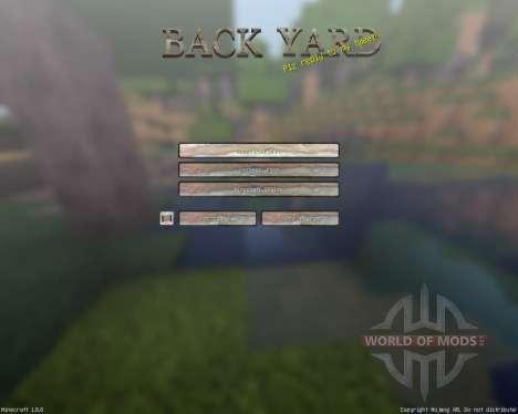 BackyardCraft [64x][1.8.8] para Minecraft