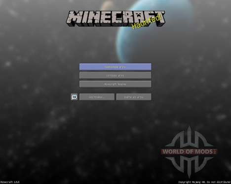 Faithful Reborn Animated Space Pack [64x][1.8.8] para Minecraft