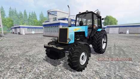 MTZ-1221 Bielorruso v3.0 para Farming Simulator 2015