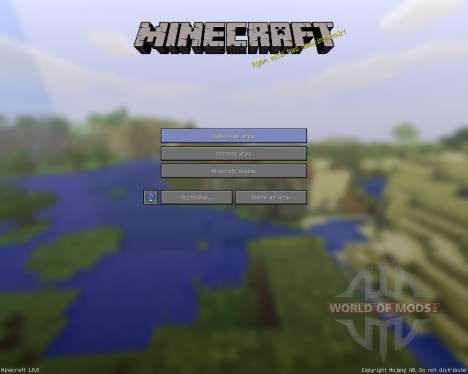 Simplified Minecraft Textures [16x][1.8.8] para Minecraft
