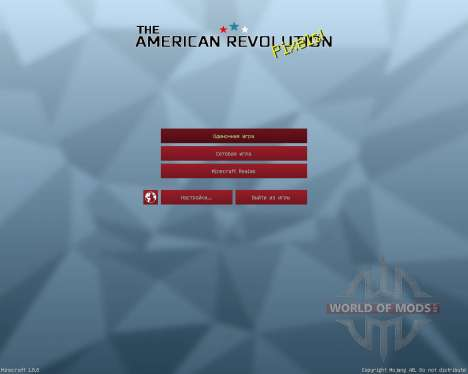 American Revolution Resource Pack [32x][1.8.8] para Minecraft
