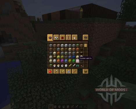 Rustic GUI Pack [16x][1.8.8] para Minecraft