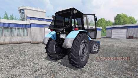 MTZ-Belarús 1025 [hoja] para Farming Simulator 2015